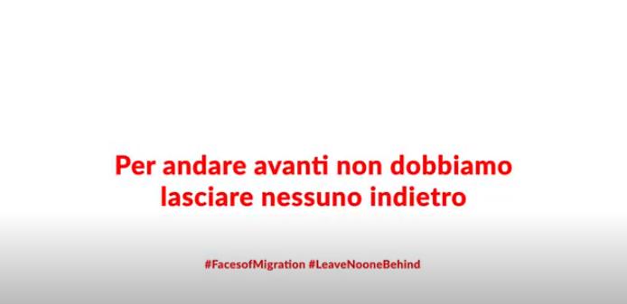 #VoltiMigrazioni: una nuova serie di video nella giornata internazionale dei migranti