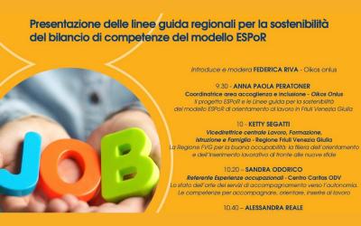 Bilancio di competenze ESPoR: un webinar per presentare le linee guida